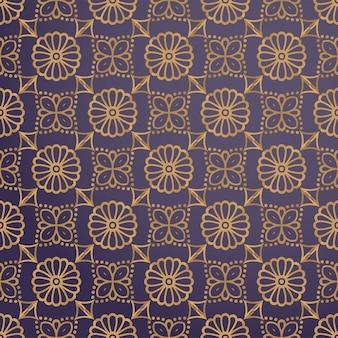 Luksusowy ornamentacyjny tło w złocistym kolorze