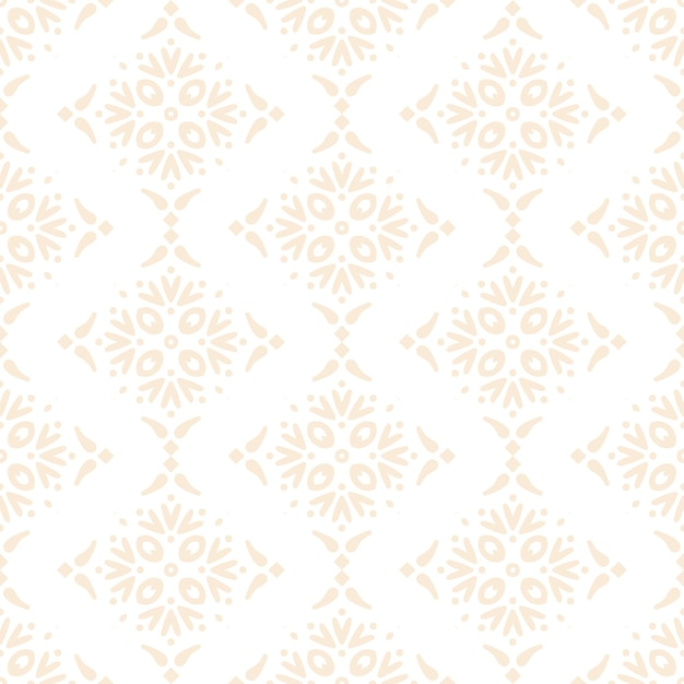 Luksusowy ozdobny mandali wzór w kolorze złotym