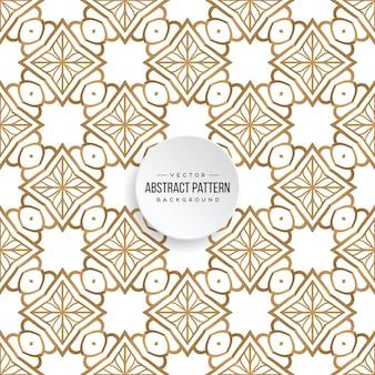 Luksusowy ozdobnych mandali wzór tła w kolorze złota