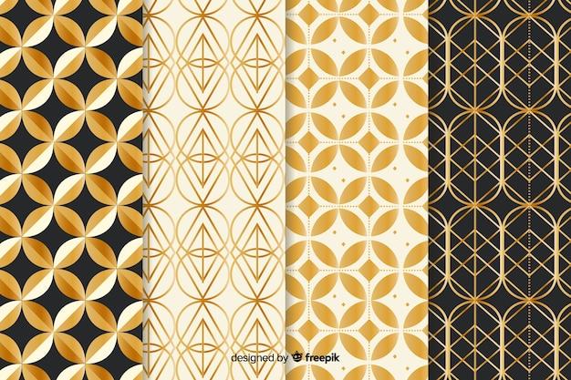 Luksusowy pakiet geometryczny wzór