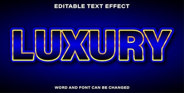 Luksusowy piękny efekt tekstowy