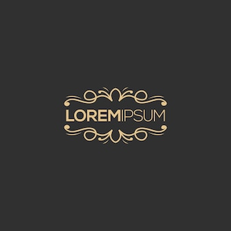 Luksusowy projekt logo, wektor, ilustracja gotowa do użycia dla twojej firmy