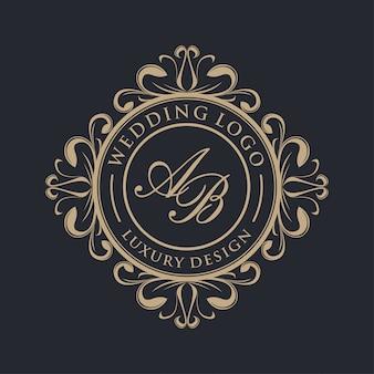 Luksusowy projekt logo