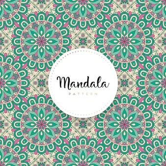 Luksusowy projekt ozdobnych mandali