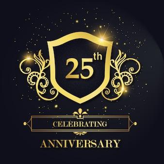 Luksusowy royal 25 celebrating anniversary