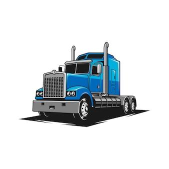 Luksusowy samochód ciężarowy
