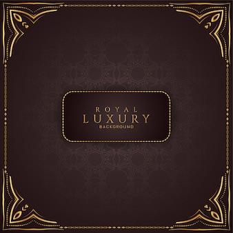Luksusowy streszczenie tło ramki