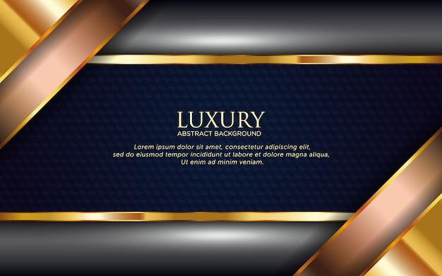 Luksusowy streszczenie tło szablonu