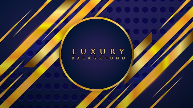 Luksusowy styl streszczenie tło z kształtami