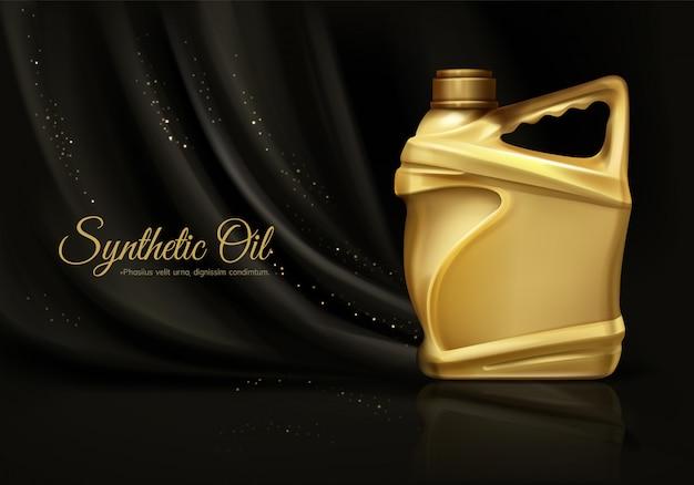 Luksusowy syntetyczny olej silnikowy