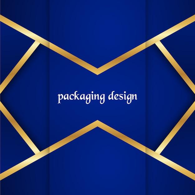 Luksusowy szablon do pakowania w nowoczesnym stylu na okładkę wina, skrzynkę na piwo.
