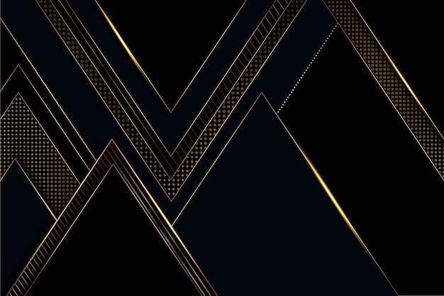 Luksusowy wygaszacz ekranu ze złotymi detalami