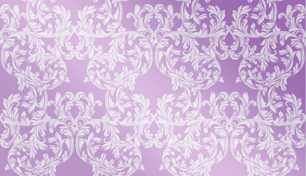 Luksusowy wystrój ręcznie robiony ornament. barokowe tekstury tła