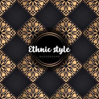 Luksusowy wzór etniczne