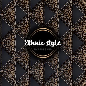 Luksusowy wzór mandali