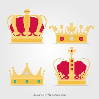 Luksusowy zestaw koron