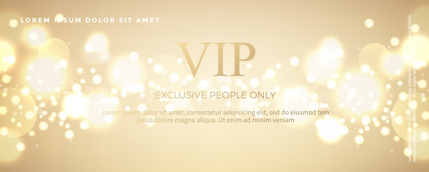 Luksusowy złoty szablon karty zaproszenia