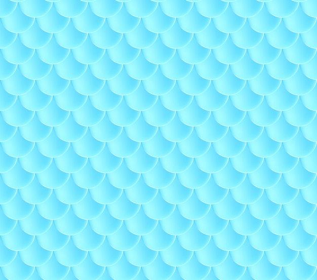 Łuski syrenki. fish squama. niebieski wzór. kolor tła akwarela. druk skali.