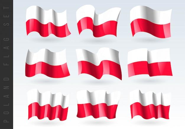 Macha flagą 3d polski.