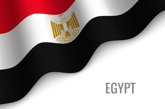 Macha flagą egiptu.