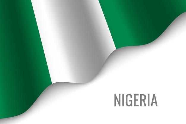 Macha flagą nigerii