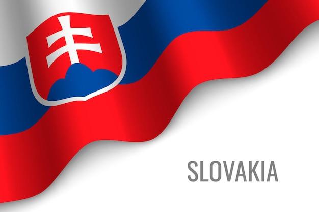 Macha flagą słowacji