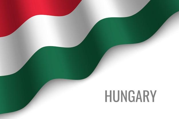 Macha flagą węgier
