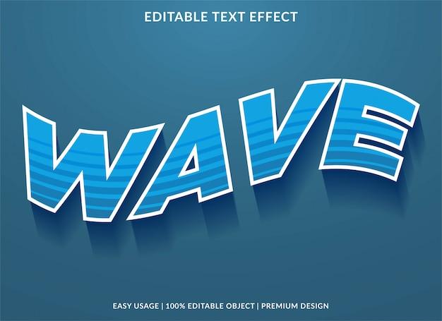 Machający efekt tekstowy