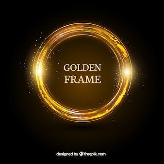 Magia złoty pierścionek