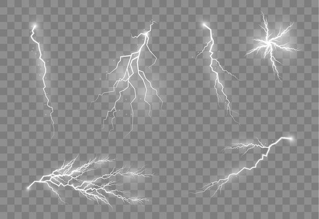 Magiczne i jasne efekty świetlne