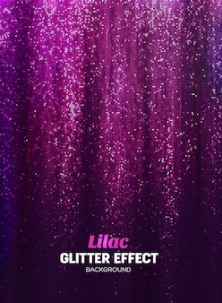 Magiczny brokat tło w kolorze liliowym