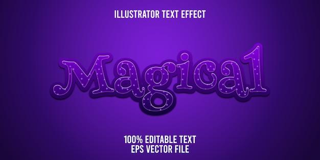 Magiczny efekt edytowalnego tekstu