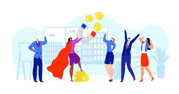 Magnes finansowy na inwestycje w dolarach biznesowych