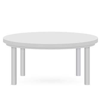 Makieta 3d tabeli. szablon do prezentacji obiektu ..