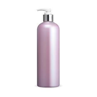 Makieta butelki z pompką pojemnik z dozownikiem szamponu opakowanie z dozownikiem pompy mydła do rąk