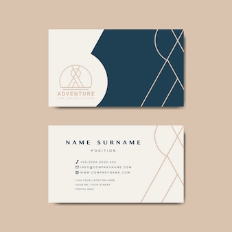 Makieta premium business card design