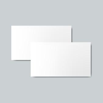 Makieta projekt wizytówki