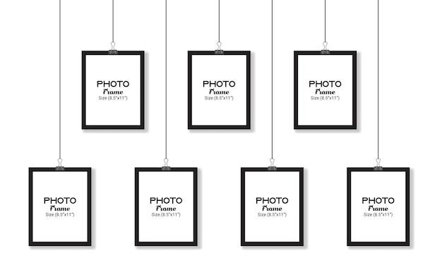 Makieta ramki na zdjęcia