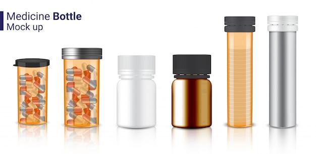 Makiety realistyczne butelki medycyny