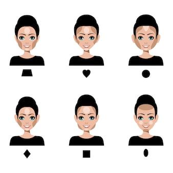 Makijaż konturów i wyróżnień