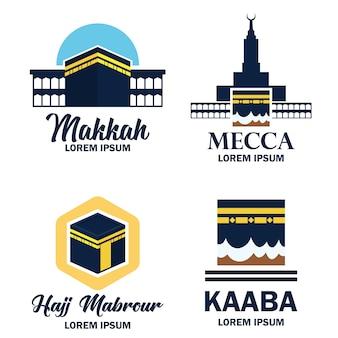 Makkah mekka kaaba hajj omra logo