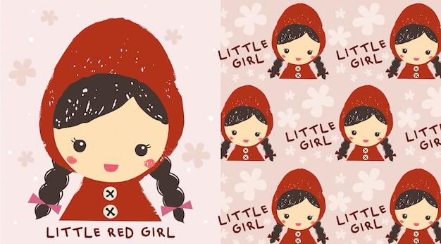Mała czerwona dziewczyna