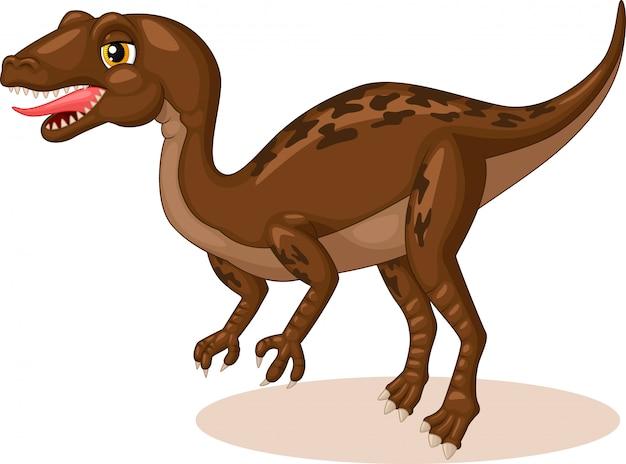 Mała kreskówka tyrannosaurus rex