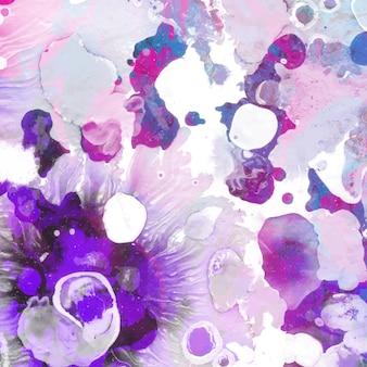 Malarstwo abstrakcyjne tło akwarela