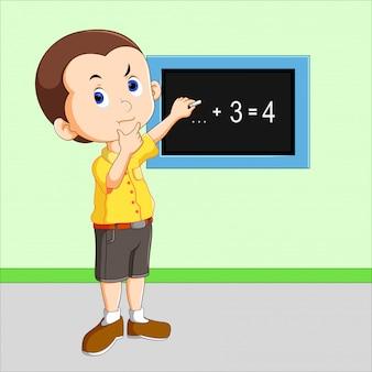 Małe dzieci uczą się liczyć