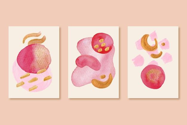 Malowane kształty obejmuje kolekcję