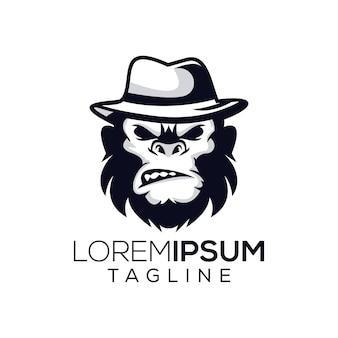 Małpa bos logo