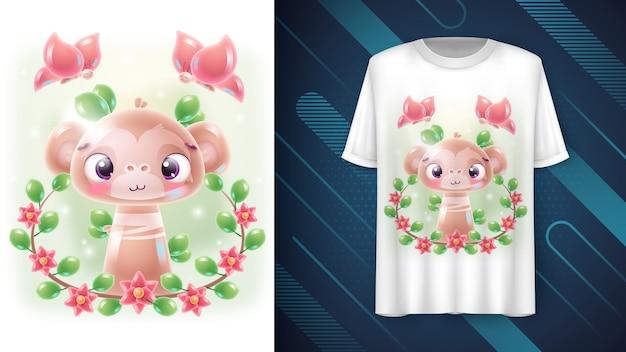 Małpa z kwiatu