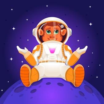 Małpy astronautów na służbie w kosmosie