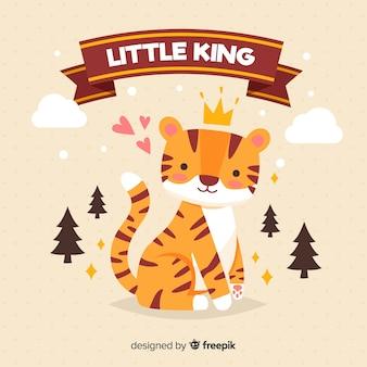 Mały król tło